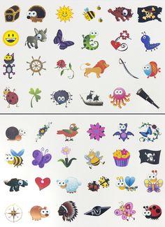 Tattoo Set 96 Kindertattoos Tattoo verschiedene Motive Kinder Spielen: Amazon.de: Spielzeug