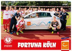 KÖLN: Am 31. Juli gehts in die neue Saison gegen Magdeburg, cambio drückt wieder die Daumen  #CarSharing #Fortuna_Köln #Köln
