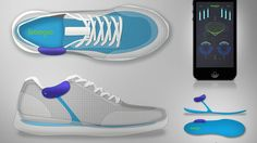 Boogio is designed to track a user's feet