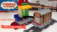 LEGO DUPLO Train 5555 Toby at Wellsworth Station - Thomas the Tank Engin...