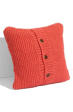 old sweaters into comfy little pillows