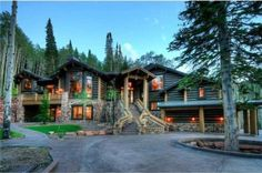 Luxury Log Cabins for Sale Photos | Architectural Digest