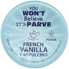 Kahan's Parve French Vanilla Cappuccino Single Serve Beverage Cups by Kahan's USA -- Awesome products selected by Anna Churchill French Vanilla Cappuccino, French Cup, Gourmet Recipes, Coffee Shop, Beverages, Drinks, Cups, Cappuccinos, Box