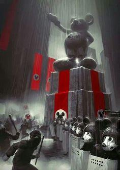 Dictator Mouse. #alternativeuniverse #mickeymouse #darkempire