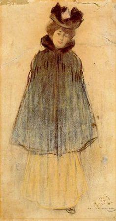 Dama by Ramón Casas