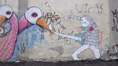 #TelAviv #Streetart is amazing! Check out these awesome artist who are making Tel Aviv Beautiful! :)
