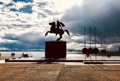 The great Alexander statue, Thessaloniki, Greece