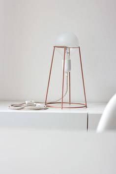 Agraffé lamp by G i u l i a  | A g n o l e t t o, via Behance