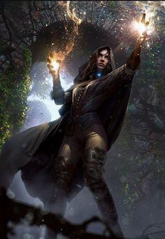 Female Wizards and Sorcerers Dump - wizard post - Imgur Fantasy Art Women, Dark Fantasy Art, Fantasy Artwork, Dnd Characters, Fantasy Characters, Female Characters, Fantasy Inspiration, Character Inspiration, Character Portraits