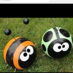 Love bowling ball bugs