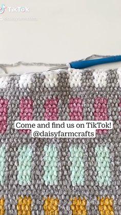 Crochet Daisy, Crochet Quilt, Crochet Art, Love Crochet, Crotchet, Crochet Crafts, Punto Fair Isle, Magia Do Crochet, Beginner Crochet Projects