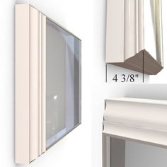 Perfect Bedroom TV Furniture - Standard Flip-Out TV mount for the Flat Screen to TV with a White Wood Picture Frame Wood Picture Frames, Picture On Wood, Wellington House, Tv Display, Tv Furniture, Tv In Bedroom, Televisions, Mounted Tv, White Wood
