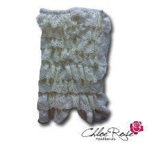 Ivory Strapless Romper | Chloe Rose Headbands