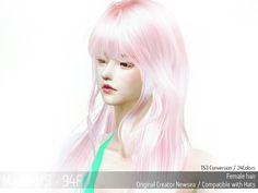 MAY Sims: May Hairstyle 94F retextured  - Sims 4 Hairs - http://sims4hairs.com/may-sims-may-hairstyle-94f-retextured/
