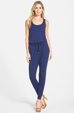 MICHAEL Michael Kors Tank Style Jumpsuit available at #Nordstrom