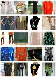 This week's eBay Roundup of #Vintage Clothing Finds. Links here: http://bit.ly/KJNEbc