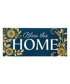 U0027Bless This Homeu0027 Switch Doormat. U0027
