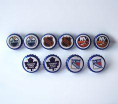 Labatts Blue Bottle Caps NHL Cuff Links by MargsMostlyVintage Beer Bottle Caps, Beer Caps, Best Gifts For Men, Gifts For Him, Independent Business, Just For Men, Blue Bottle, Team Gifts, Cool Items