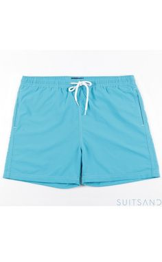 24.90€ seulement les maillots de bain pour Homme. Short de bain pour homme  couleur bleu clair, taille élastique avec lien de serrage. 9e318405473