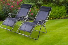 instead of for two textoline zero gravity reclining chairs - save Outdoor Chairs, Outdoor Furniture, Outdoor Decor, Home And Garden Store, Uk Homes, Garden Chairs, Sun Lounger, Recliner, Zero