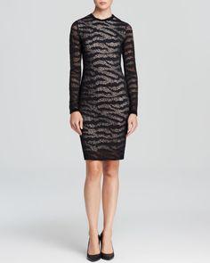 twenty tees Dress - Sheer Sleeve   Bloomingdales's