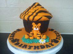 Tiger Giant Cupcake