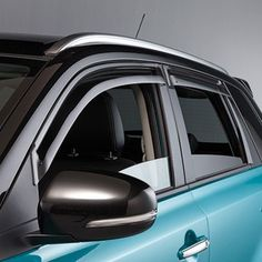 Suzuki Vitara Door Visor Set Front - Front Door Visor Set For front windows only; Exterior Protection New Look Set \u003d Front Pair Only (L & Suzuki Vitara Door Visor Set Rear 2015MY- - 990E0-54P25-000 ...