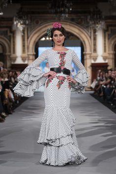 We Love Flamenco 2020 - Sevilla Jose Fernandez, Flamenco Costume, Spanish Fashion, Unique Outfits, Our Love, Polka Dots, Unique Clothing, Edwardian Dress, Dream Closets