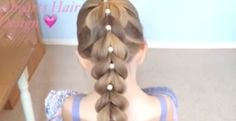 Perfect Pull Through Braid Tutorial For Your Daughter!