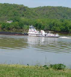 Ohio River-  My Aunt was a Cook on one of these tug boats. So many stories.