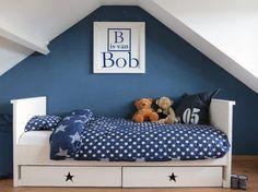 jongenskamer blauw met sterren welke.nl
