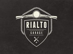Rialto Garage Logo - Work in progress