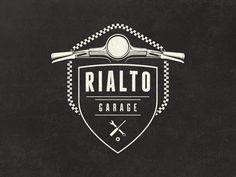 Rialto Garage Logo - Work in progress