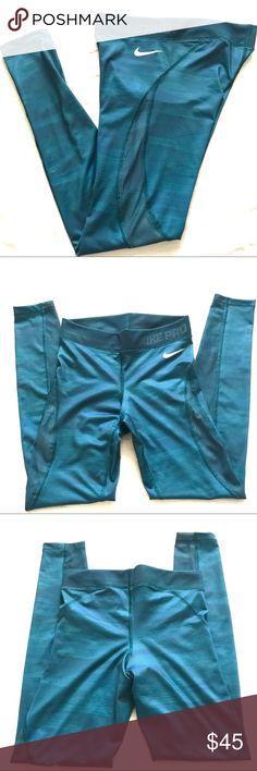 Nike Pro Hypercool leggings Full length hypercool nike pros ~ EUC Nike Pants Leggings