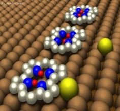 Physical - Two-proton bit controlled by a single copper atom