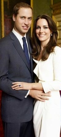 Prince William and Kate Middleton Engagement Portrait