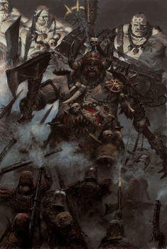 ArtStation - art for games workshop publication 'ogre kingdoms', adrian smith