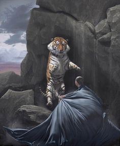 """Enfrentarse"". Joel Rea (Australia, 1983- )."