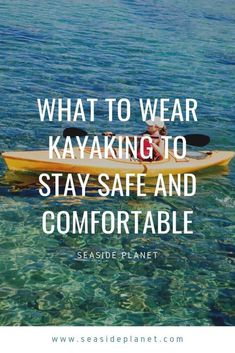 I love kayaking, but when I first started I was very confused about what I needed to wear. If you are in the same boat as I was and wonder what to wear kayaking so that you can really enjoy yourself, then you have come to the right place. Kayaking With Dogs, Kayaking Tips, Kayaking Outfit, Canoe And Kayak, Kayak Fishing, What To Wear Kayaking, Kayak Adventures, Outdoor Adventures, Kayak For Beginners