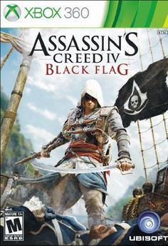 Assassin's Creed IV 4 Black Flag [Nintendo Wii U Exclusive Epic Ezio Edition] The Assassin, Game Assassins Creed, Assassins Creed Black Flag, Jeux Xbox One, Xbox 1, Nintendo 3ds, Angry Birds, Wii U, Digital Media