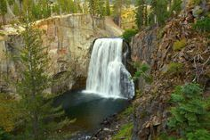 Rainbow Falls, John Muir Wilderness, California's Eastern Sierra