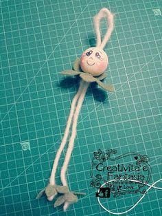 come realizzare una bambolina fata in feltro