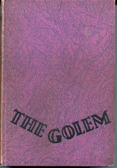 The Golem by Gustav Meyrink    -first edition 1928