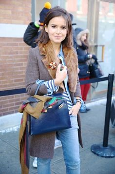 Miroslava Duma @ La Fashion Week automne-hiver de New York – Expolore the best and the special ideas about Miroslava duma La Fashion Week, Fashion Mode, 80s Fashion, Fashion Outfits, Fashion Tips, Color Fashion, Fashion Clothes, Street Fashion, Girl Fashion