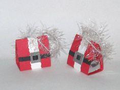 Santa Nugget Purse, Holder, Favor ....nugget-purse-video-tutorial....<3