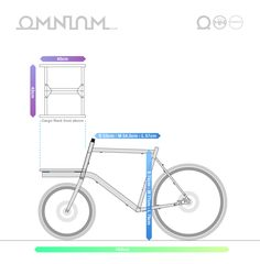 The Omnium Mini is a fast, manoeuvrable 'short-john' bike that can carry surprisingly heavy loads. Velo Cargo, Cargo Rack, Shops, Veils, Tents, Retail Stores