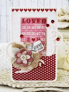 Valentine Card - Lilibean Paperie