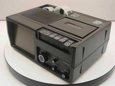 Dukane 28A46B Portable Film Viewer Audio Tape Deck - Faulty - As Is / For Parts #Dukane Projectors, Tape, Deck, Audio, Film, Ebay, Movie, Film Stock, Front Porches
