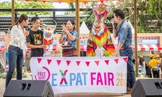 """Held last Oct 1 and 2 at the Fragrant Park in Bangkok's BTS Thong Lo Station, the first ever Expat Fair Thailand 2016 took place.  Mr. Yuthasak Supasorn, TAT Governor saw this multicultural side of modern Thailand saying  """"We were pleased that so many people, expats, their families and Thais, came down to enjoy the wide range of fun and food that were served.  #Thailandtourism #funandfoodinthailand"""
