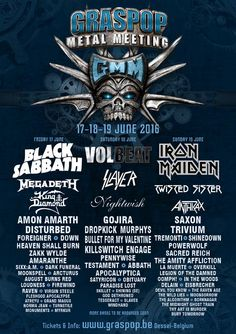 HeadbangerVoice: Graspop Metal Meeting atualiza atrações de 2016